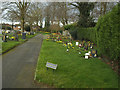 SJ7660 : Sandbach Cemetery: Children's area by Stephen Craven