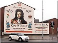 "J3373 : ""King Billy's on the Wall ""- Welcome to Sandy Row by Eric Jones"
