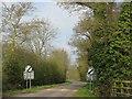 TL2378 : Leaving Abbots Ripton by M J Richardson