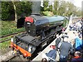 SE0337 : Flying Scotsman in Haworth station by Philip Halling