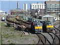 O1734 : 071 Class locomotives in North Wall Yard : Week 14