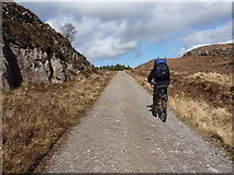 NG8878 : On the track near Loch an Doire Ghairbh by Richard Law