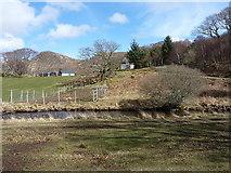 NG8979 : Kernsary Farm by Richard Law