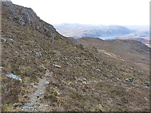 NG9176 : High in Coire nan Dearcag by Richard Law