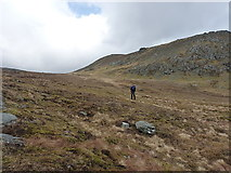 NG9276 : Off towards Beinn Airigh Charr by Richard Law