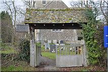 TL3758 : Lych gate, Church of St Mary by N Chadwick