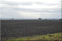 TL3758 : Farmland south of Hardwick by N Chadwick