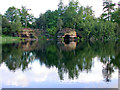 TQ4621 : The Lake, Lake Wood, Uckfield by Robin Webster