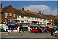 TQ2391 : Parade of shops, Salcombe Gardens, Mill Hill by Christopher Hilton