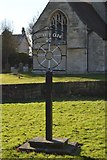 TL4058 : Coton Village sign by N Chadwick