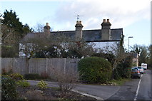 TL4158 : House, The Footpath by N Chadwick