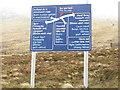 NN1875 : Nevis Range path options by M J Richardson