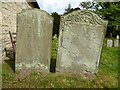 SO8742 : Early 19th century gravestones by Philip Halling