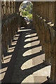 NT6520 : Shadows at Jedburgh Abbey : Week 18