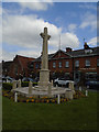 SU8586 : War Memorial, Marlow by Paul Gillett
