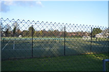 TL4358 : Tennis Courts, Trinity Old Field by N Chadwick