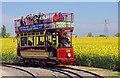 SK2406 : Statfold Barn Railway - incongruous : Week 19