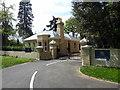 TL9824 : Gatehouse at Altnacealgach House, Park Road, Colchester by PAUL FARMER