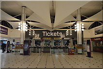 SX4755 : Ticket Hall, Plymouth Station by N Chadwick