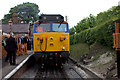 SP7500 : Chinnor station. Visiting class 50 locomotive by Robert Eva