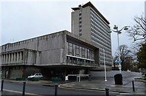 SX4754 : Plymouth Civic Centre by N Chadwick