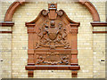 SJ8595 : Manchester Corporation Crest, Victoria Baths by David Dixon