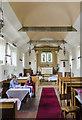 TF0676 : Interior, St Hugh's church, Langworth by Julian P Guffogg