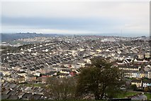 SX4556 : View from Mount Pleasant - NNW by N Chadwick