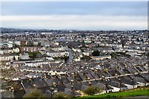 SX4656 : View from Mount Pleasant - NNE by N Chadwick