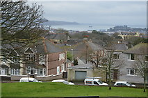 SX4555 : View from Mount Pleasant - SW by N Chadwick