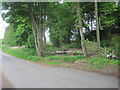 NJ7624 : Lethenty Halt railway station (site), Aberdeenshire by Nigel Thompson