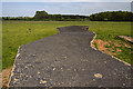 SJ5957 : WWII Cheshire, RAF Calveley, near Nantwich - Seagull Trench (5) by Mike Searle