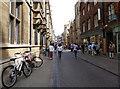 TL4458 : Trinity Street in Cambridge by Mat Fascione