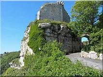 SY6971 : Rufus Castle, Portland by Gareth James
