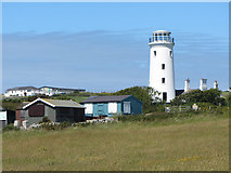 SY6868 : Former lighthouse, Isle of Portland by Gareth James