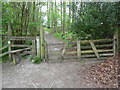 SU7890 : Stile and Gate leading into Fingest Wood by David Hillas