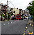 SO1602 : Stagecoach bus stopped in Hollybush by Jaggery