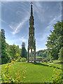 ST7733 : Stourhead Gardens, The Bristol Cross by David Dixon
