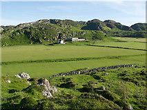 NR4199 : Fields and farm of Balnahard by Julian Paren