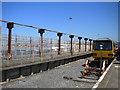 SD4060 : Disused platform, Heysham Port station by Richard Vince