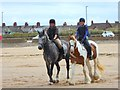 NZ5925 : A ride on Redcar beach by Oliver Dixon
