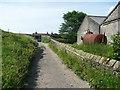 SE0627 : Halifax Bridleway 257 at Leighton Farm by Humphrey Bolton