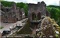 SO5720 : Goodrich Castle: The Solar Block by Michael Garlick