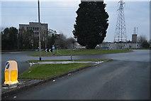 SX4858 : Roundabout, B3373 by N Chadwick