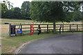 SP9604 : Entrance to Little Passmore Farm by Robert Eva