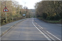 SX5058 : Forder Valley Rd, B3413 by N Chadwick