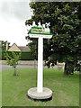 TL5664 : Swaffham Prior Village Sign by Adrian S Pye