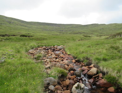 NN4798 : Tributary of Allt Luaidhe above Speyside by ian shiell