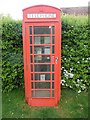 SU6896 : Red K6 Telephone Box at Pyrton by David Hillas
