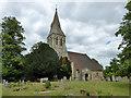 TQ0073 : Wraysbury church : Week 28